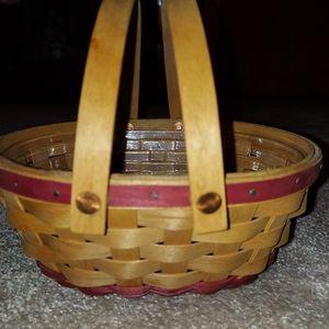 Longaberger Gum Drop Basket